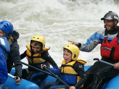 Rafting for School Trips Noguera Pallaresa, 8 km