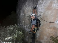 Ferrata at night