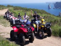 Quad route with friends