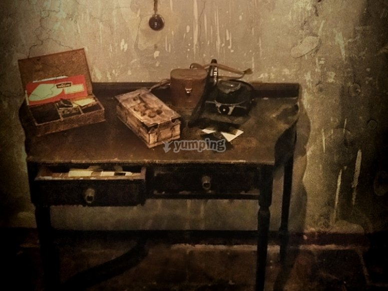 Antiguo escritorio