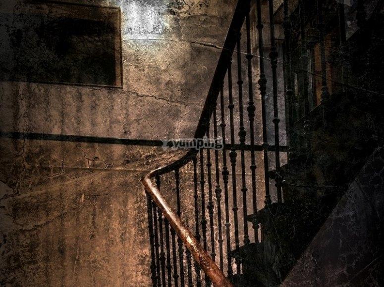 Sube las escaleras