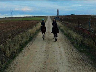 Equitazione vicino a Zamora 1 ora