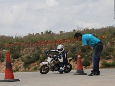 Motorcycle pre-license driving course in Algete