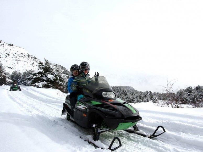 Nieve perfecta para nuestras motos