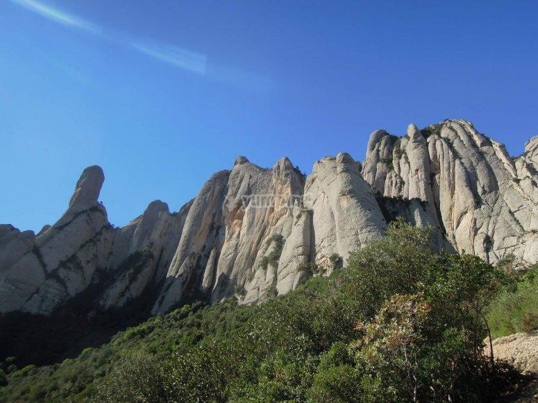 在加泰罗尼亚的攀岩运动