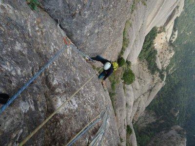 在蒙特塞拉特运动攀登1天