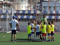 Entrenamiento de futbol en Tenerife