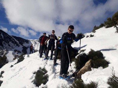 Snowshoes trip across Pyrenees Cataluña