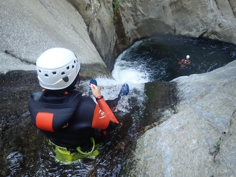 沟壑中的水井