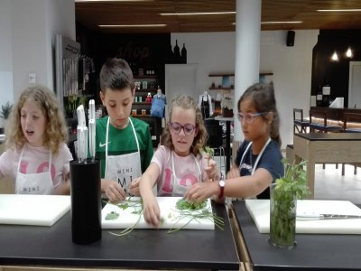 Campamento Junior Chef en inglés San Sebastián