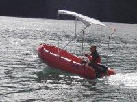 Disfrutando de un día de relax en barco