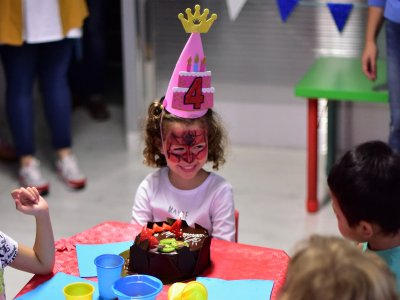 Children's birthday in play center, Tenerife