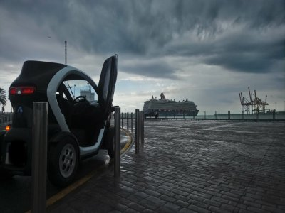 Electric car tour in Malaga 3h and 30 min