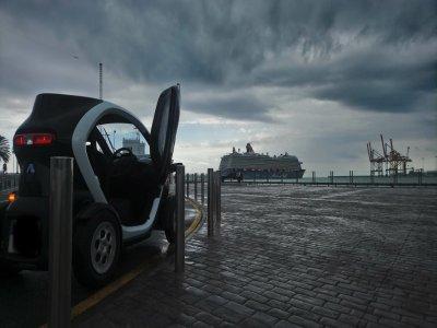 Tour en coche eléctrico por Málaga 3h y 30 min