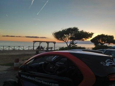 Especial parejas ruta en coche eléctrico Málaga