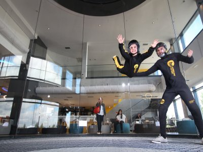 2 flights in Wind Tunnel for Adults, Madrid