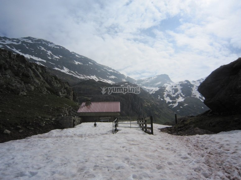 Montaña nevada
