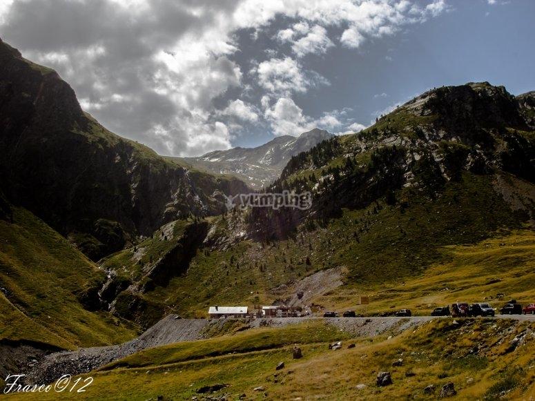 Valle en el Pirineo Aragonés