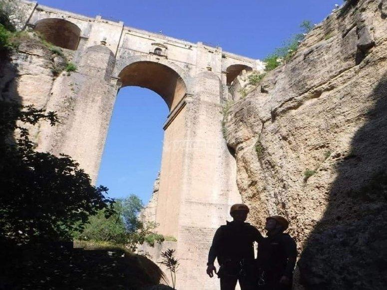 Vistas del puente de Vistilla