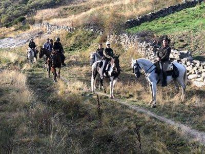 Salida a caballo por el sur de Gredos 3 horas