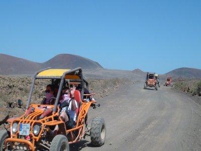 Buggy para 2 ruta de 4 horas en Corralejo