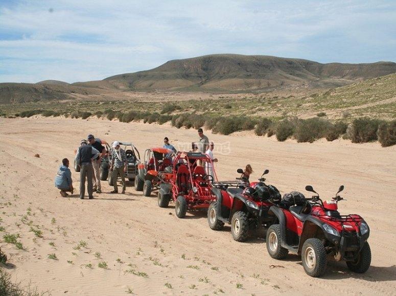 Convoy por Fuerteventura