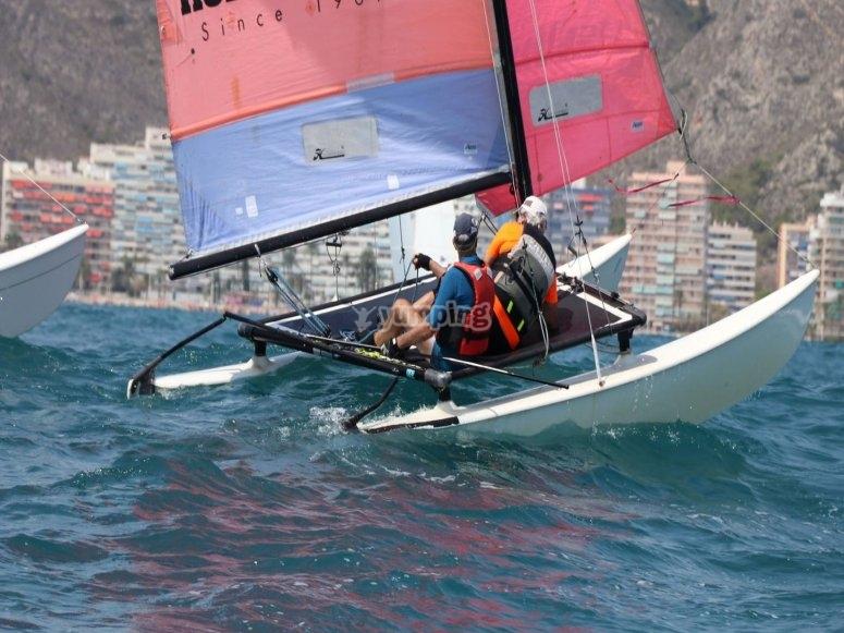 Navigando a Cullera