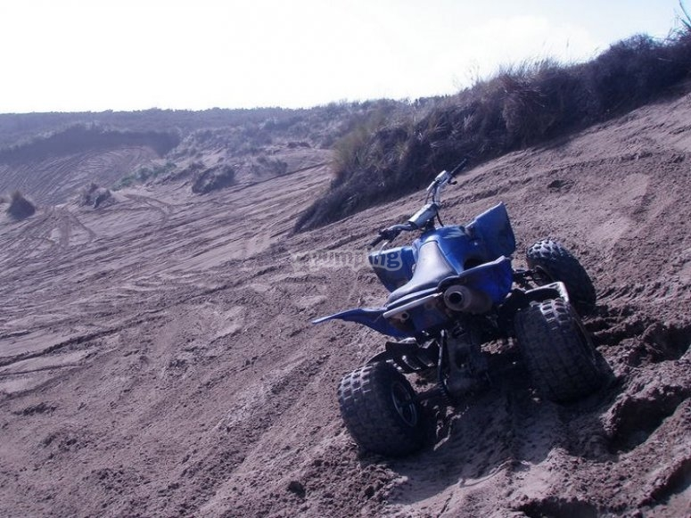 Playa Cantabria en quad