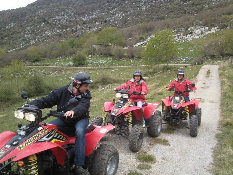 Salida en quad por los Picos de Europa