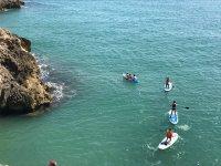 在Cullera的桨冲浪,与教练1小时