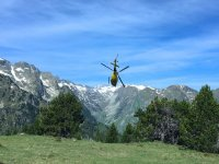 Volar en helicóptero en el Pirineo Catalán 30 min