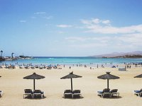 Vistas de Playa la Pinta