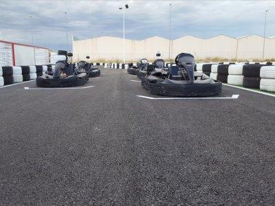 Karting para niños en Castellón 2 tandas