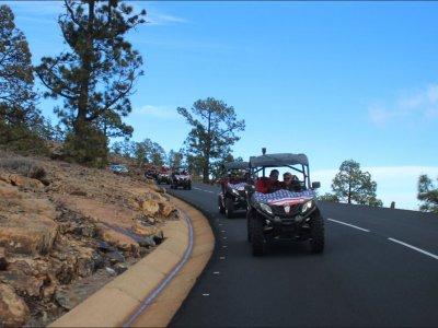 Buggy biplaza ruta de 3 horas en Tenerife