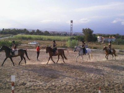Aprender a montar a caballo en El Altet 30 min