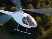 Initiatory helicopter flight
