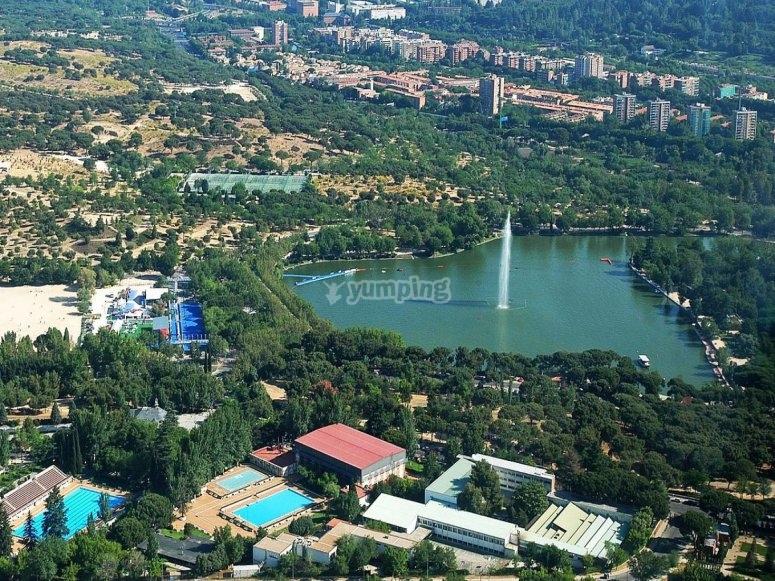 Casa de Campo lake