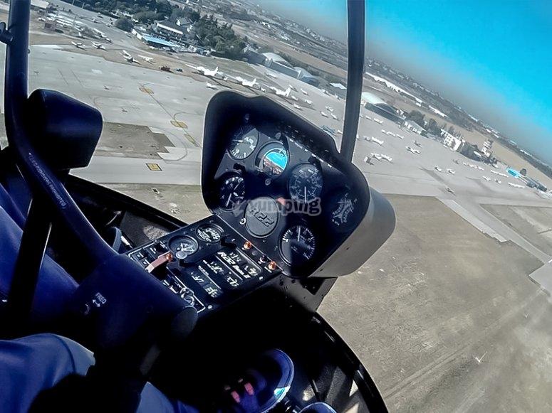 直升机外观