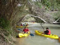 Canoe descent