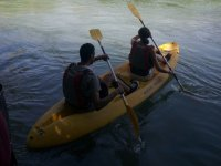 Two-seater canoes