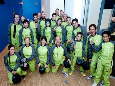 Vuelo en grupo en el túnel de viento Madrid 1 hora