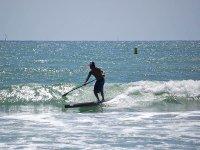 Disfrutando de una tarde de paddle surf