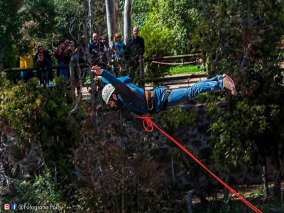 Bungee jumping a Sant Sadurní a 30 metri alle 09 h