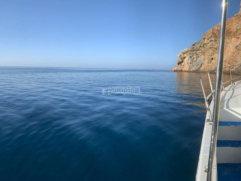Salida de buceo por la Azohía
