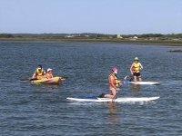 Navegando en tabla de paddle surf