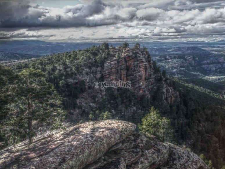 Vistas de la Sierra de Albarracin