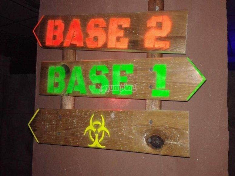 Nuestra juego de laser tag