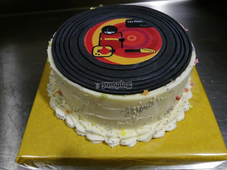 Tarta genial de cumpleaños