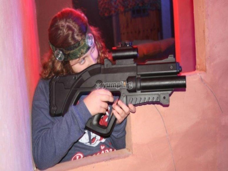 Laser tag en Murcia