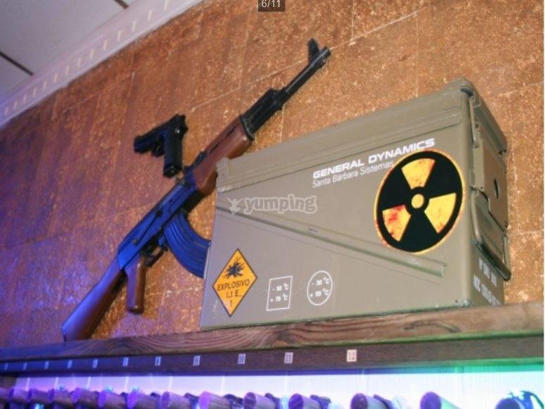 Zone radioattive del gioco